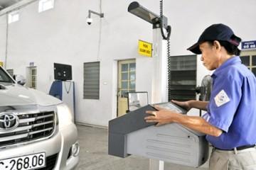 Nơi đăng kiểm ô tô tại Hà Nội