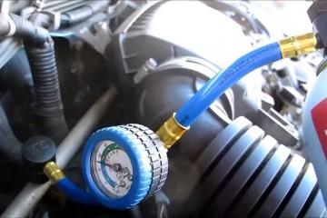 Sửa lốc nén điều hòa ô tô và nạp ga điều hòa ô tô